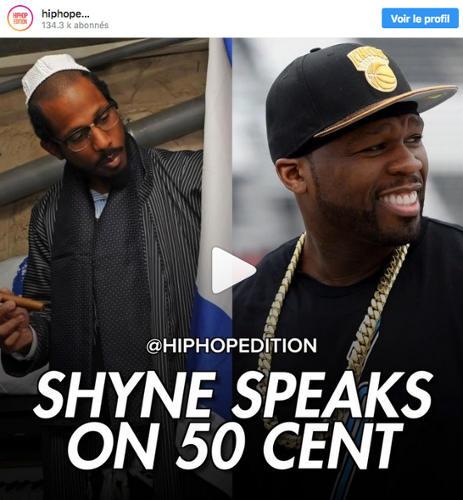 Photo représentant Shyne et 50 Cent Jewpop