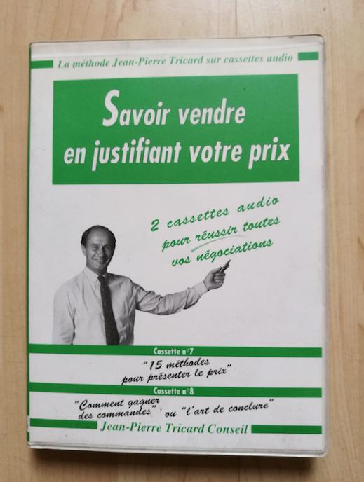 Jean Pierre Tricard K7 audio JewPop