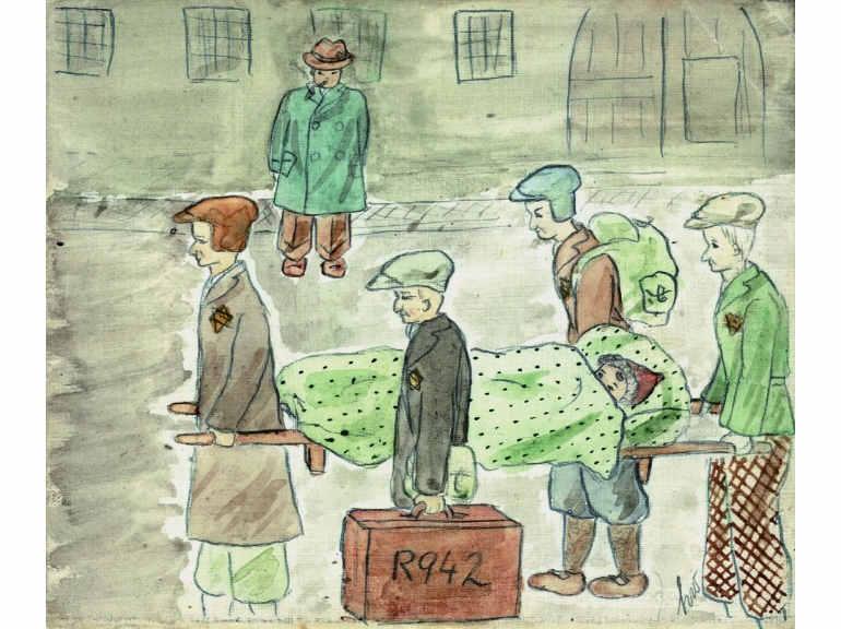 Le Journal d'Helga dessin Terezin Jewpop