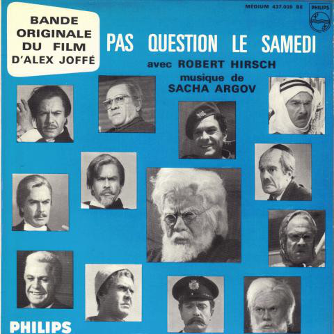 Pas question le samedi Robert Hirsch JewPop