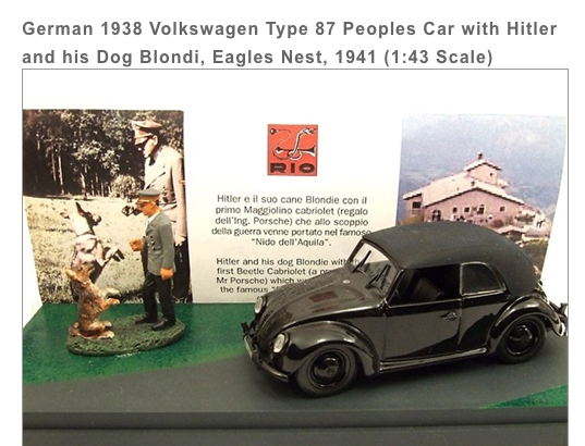 Hitler Mercedes Chien Jewpop