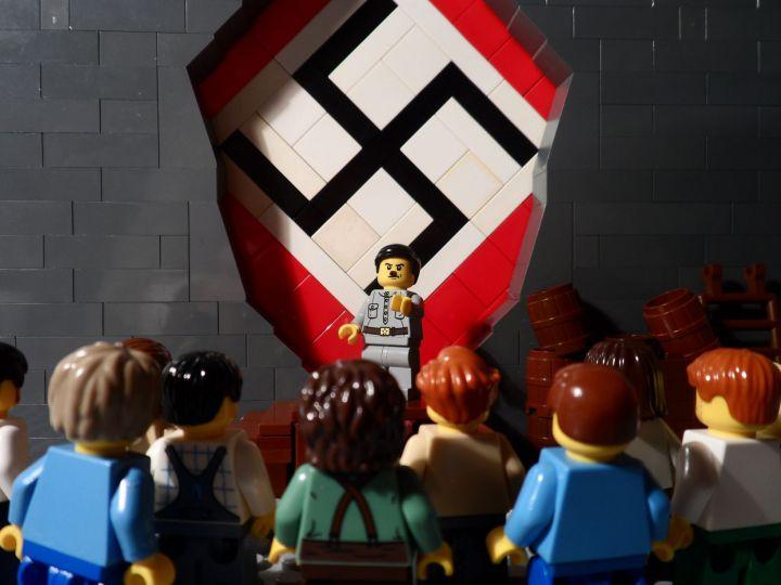 Hitler Lego John Denno JewPop