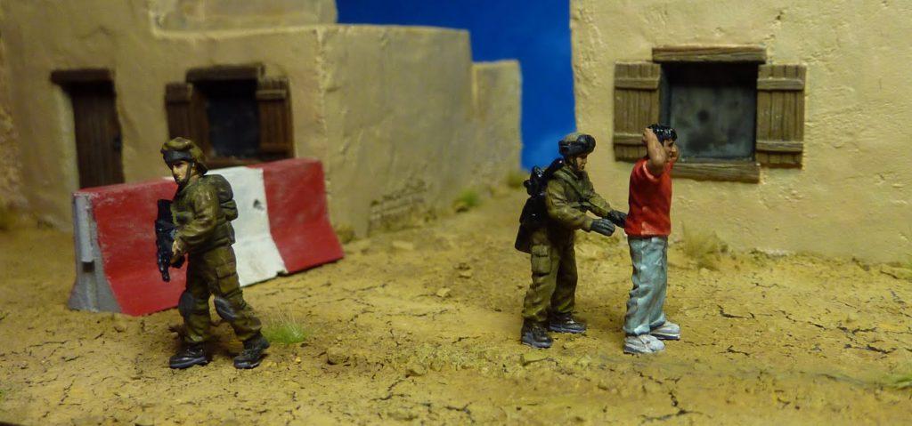 Soldats Tsahal Palestiniens figurines JewPop