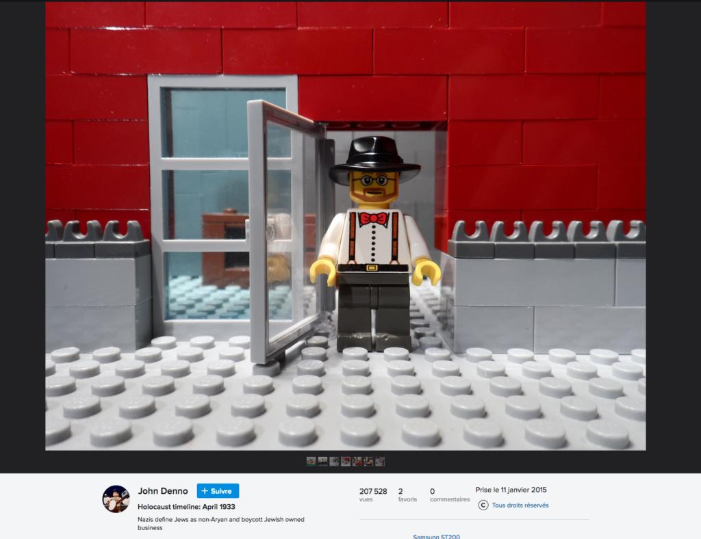John Denno Lego Shoah JewPop