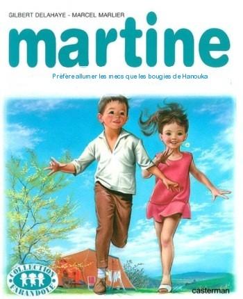 Martine fait Hanouka JewPop