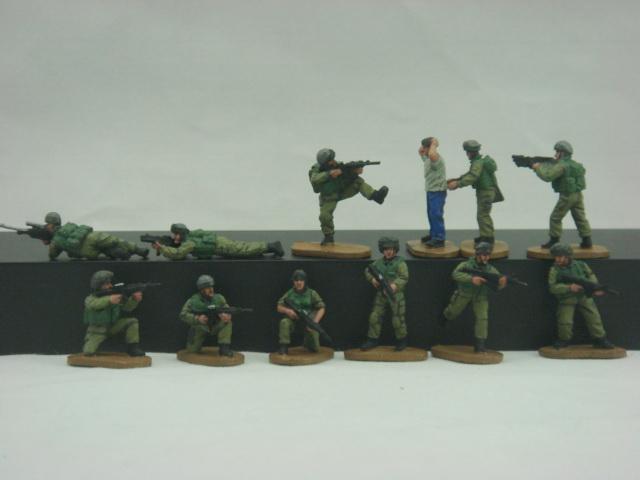 Tsahal figurines JewPOp