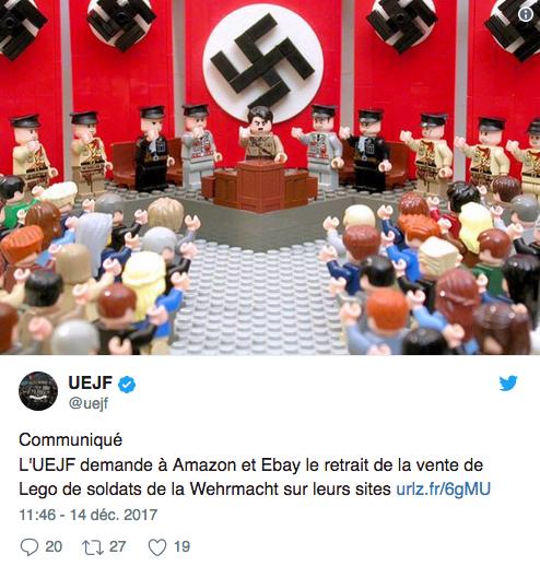 UEJF Lego Nazi jewPop