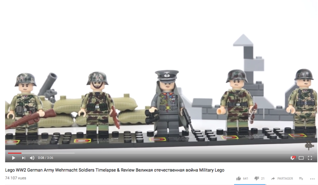 YouTube Lego Nazi JewPop