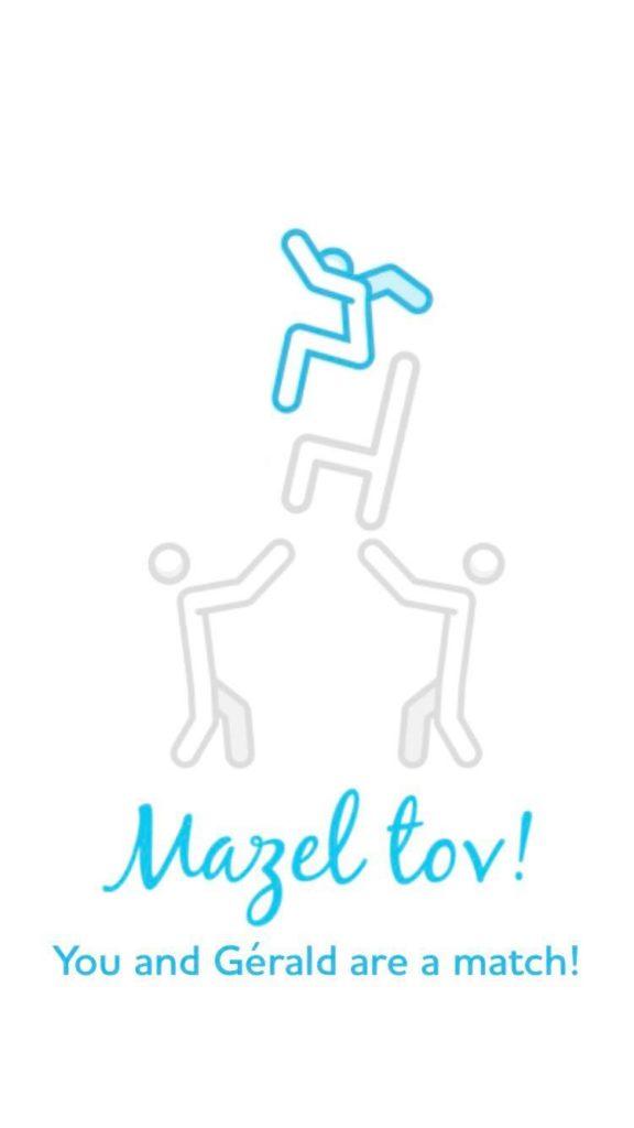 JSwipe Mazel Tov JewPop