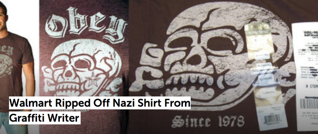 T-shirt Obey Giant JewPop