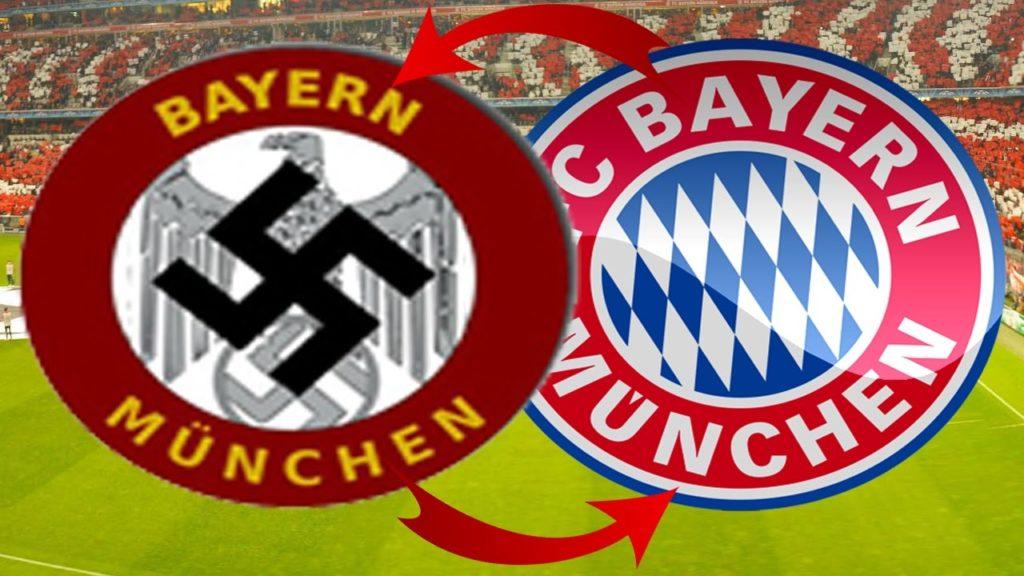 Bayern Munich logo nazi football JewPop