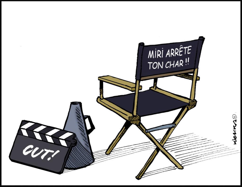 Miri Regev Foxtrot Boycott Jewpop Festival du cinéma israélien de Paris