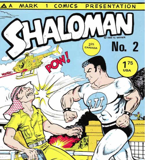 Shaloman comics JewPop