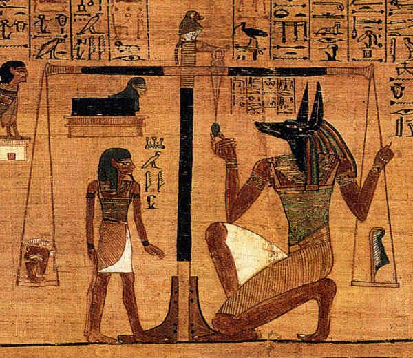 Anubis Egypte chien Jewpop