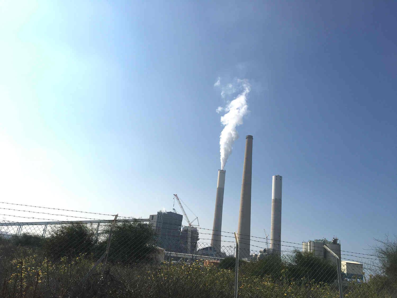 Cheminée usine dessalement Ashkelon Jewpop