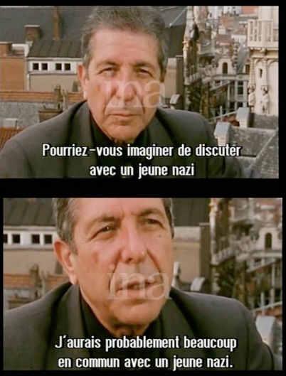 Leonard Cohen Ina JewPop