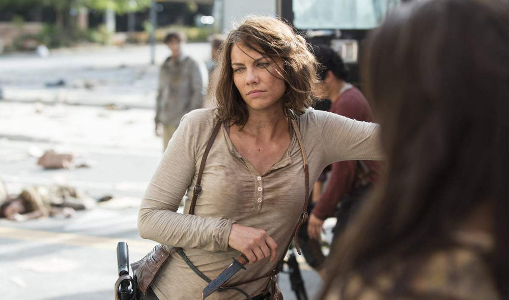 Lauren Cohan The Walking Dead Jewpop