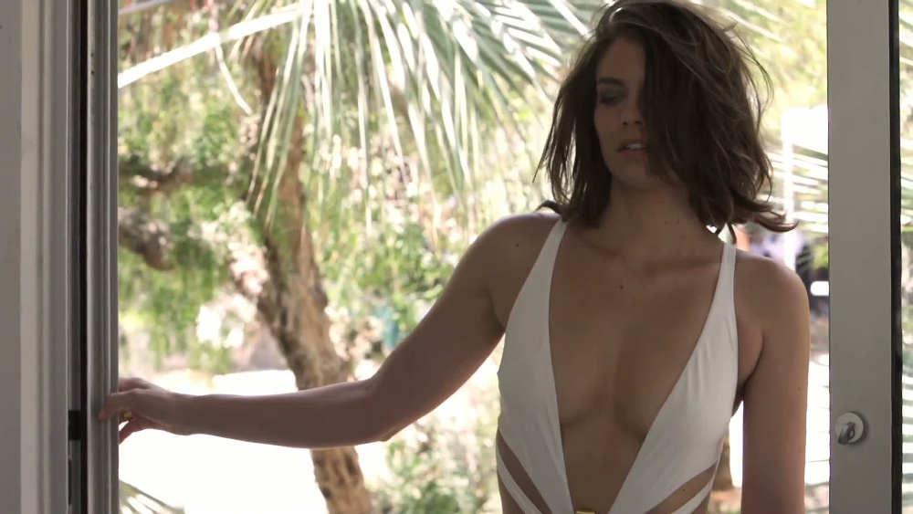 Lauren Cohan maillot de bain Jewpop