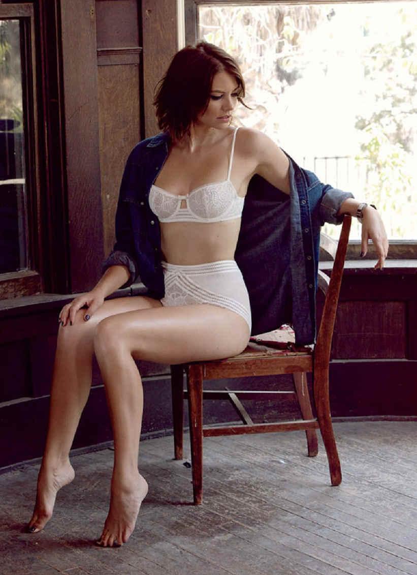 Lauren Cohan panty Jewpop