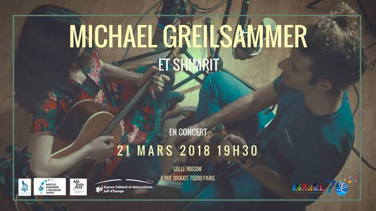 Michael Greilsammer Shimrit concert Jewpop