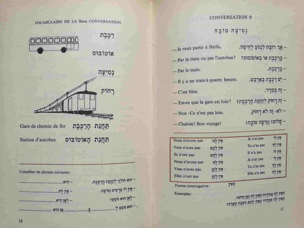 Manuel conversation hebreu Jewpop