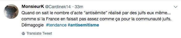 juifs antisémites Twitter