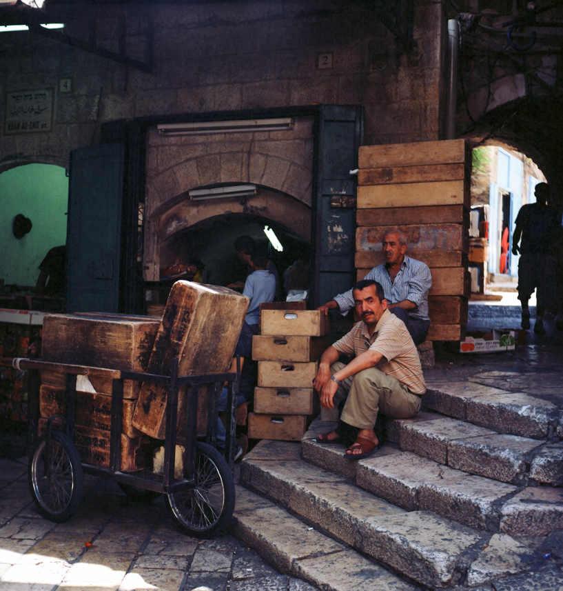Samuel Saada souk Jerusalem