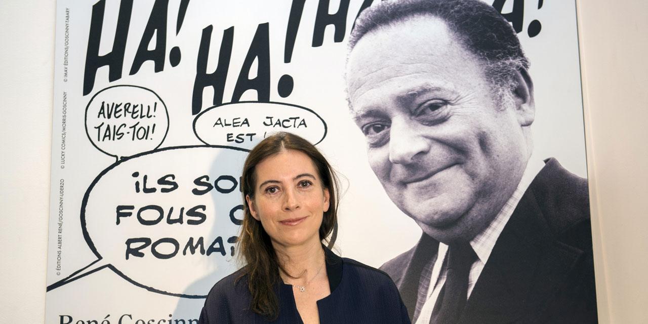 Anne et René Goscinny