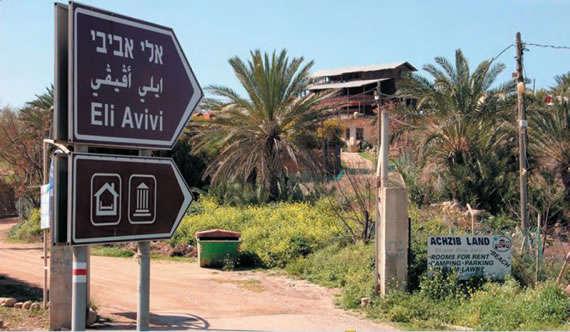 Panneau Eli Avivi