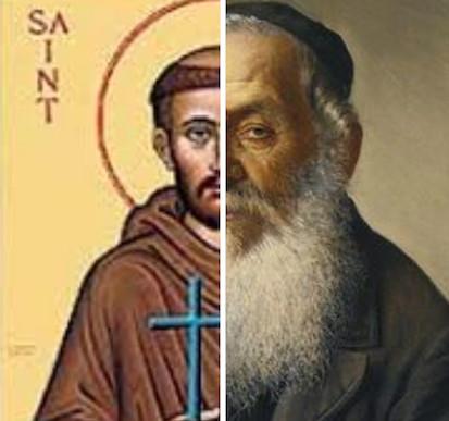 Saints rabbin Jewpop