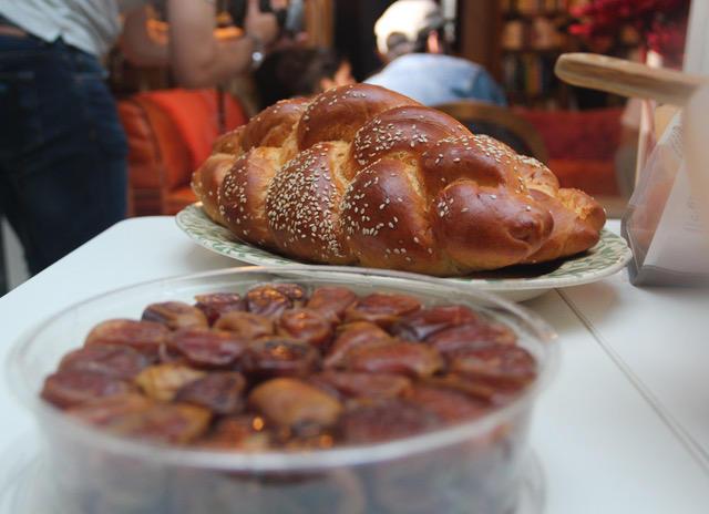 Shabaddan challah dattes