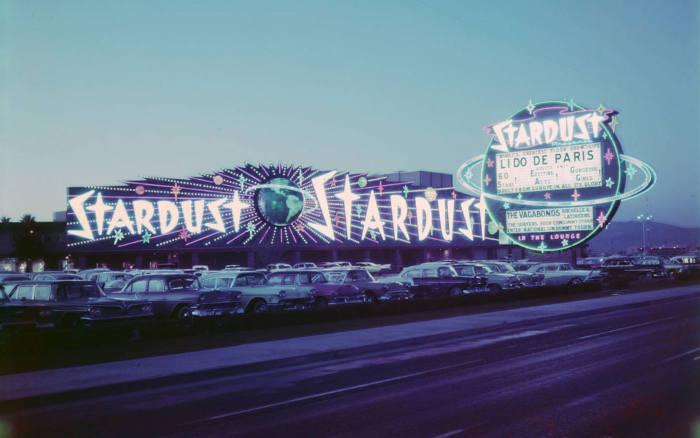 Photo représentant le casiono Stardust à Las Vegas