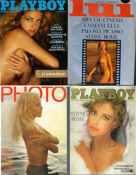 Couvertures magazines Sydne Rome