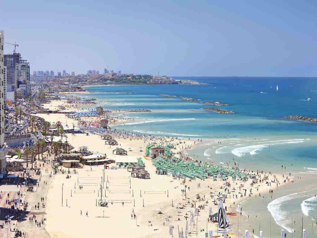 Plage Tel-Aviv