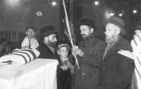 Souccot ghetto Lodz 1941