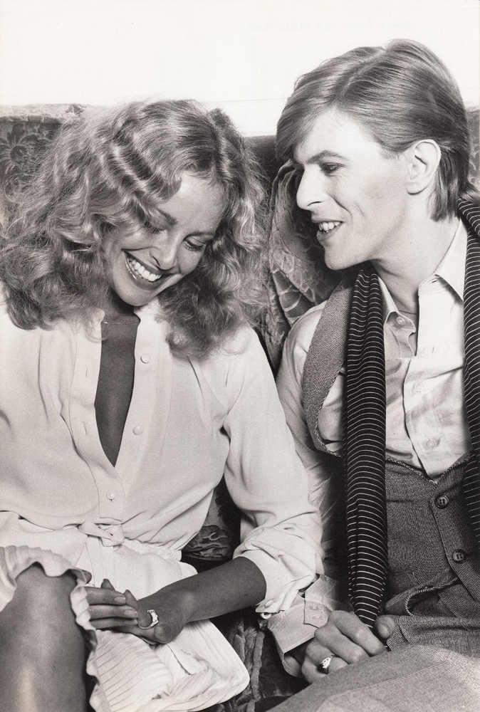Sydne Rome et David Bowie
