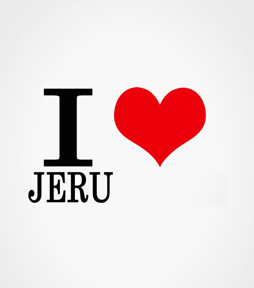 I love Jéru t-shirt Jewpop