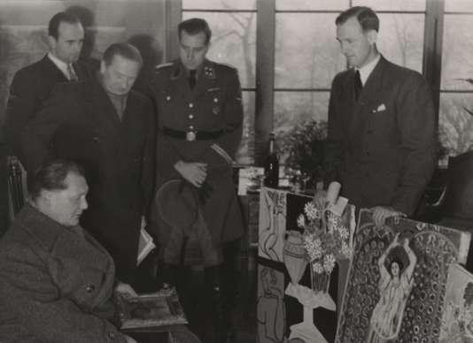 Goering au Jeu de Paume