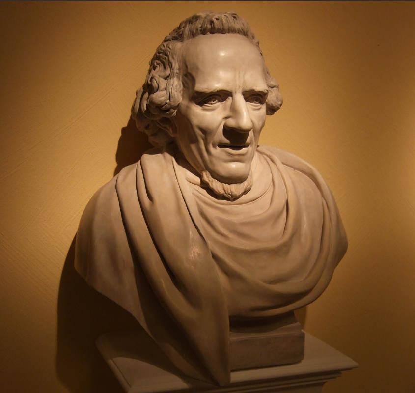 Buste Moses Mendelssohn Jewpop