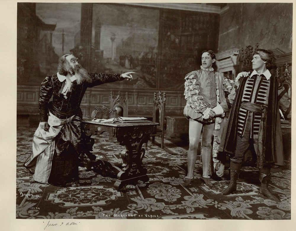 Jacob Adler Shylock Jewpop