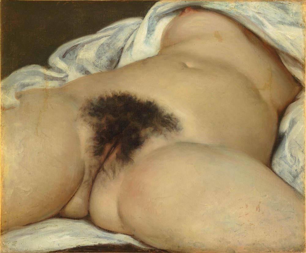 Courbet Origine du monde expo Freud MAHJ Jewpop