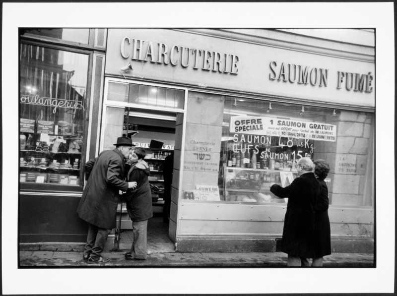 Charcuterie Lerner rue des Rosiers à Paris 1975 - Salomon Rabbi Jacob
