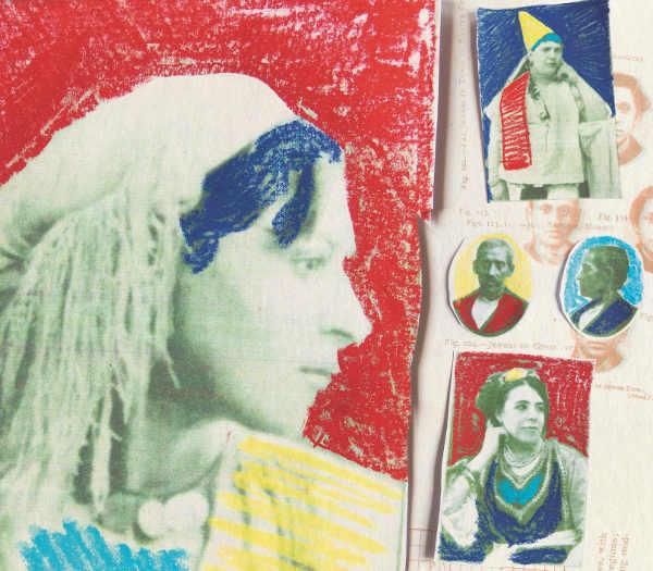 Dessin de femmes juives sépharades SefWoman Jewpop