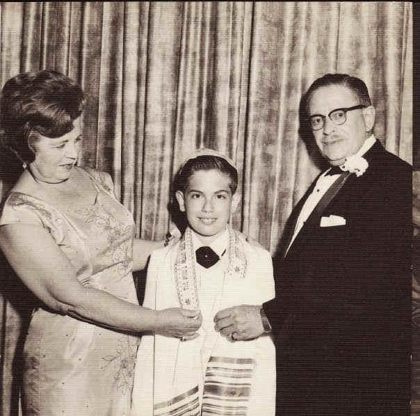 Photo de bar mitzva années 50 jewpop