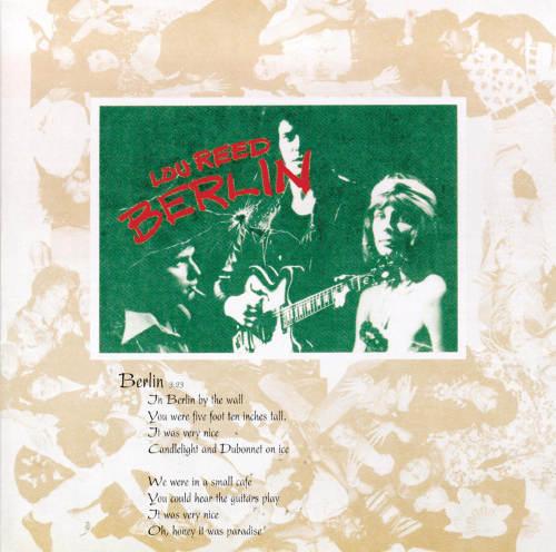Lou Reed Berlin Jewpop