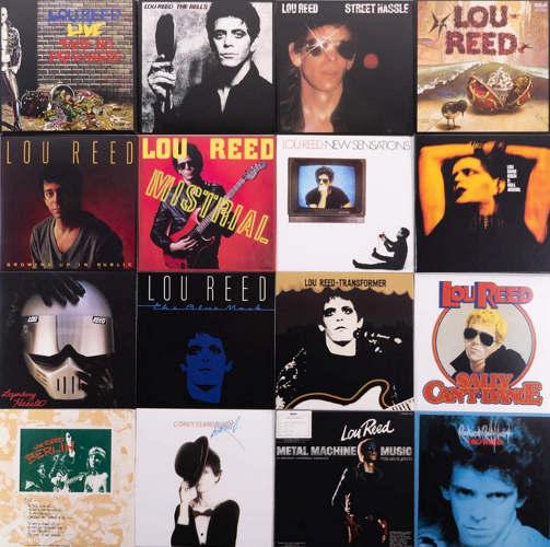 Pochettes albums Lou Reed Jewpop