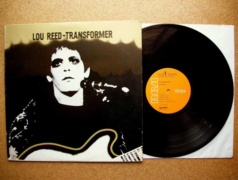 Transformer Lou Reed Jewpop