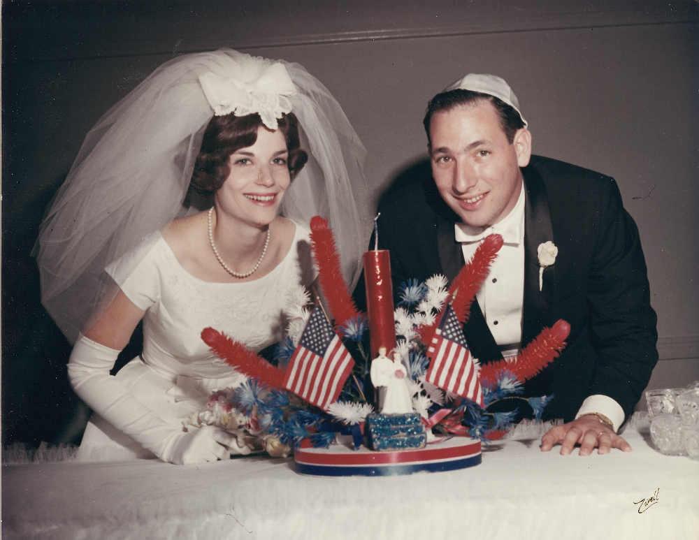 Photo représentant un couple de mariés mariage juif Jewpop