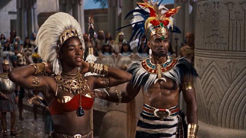 Photo du film Les 10 Commandements avec Woodrow Strode Jewpop