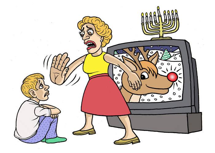 Noël maman juifs Jewpop
